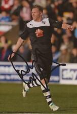 CHESTERFIELD: RITCHIE HUMPHREYS SIGNED 6x4 ACTION PHOTO+COA