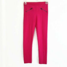 Old Navy Pants Girls 10-12 Pink Stretch Comfort Pull-On with Zipper Detail