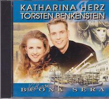 Katharina Herz&Torsten Benkenstein-Buona Sera cd album gersigneerd