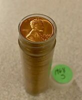 1968 S Lincoln Memorial Cent 1 Roll BU Brilliant Uncirculated 50 Cents