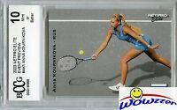 2003 Netpro Elite #AK1 Anna Kournikova ROOKIE BECKETT 10 MINT