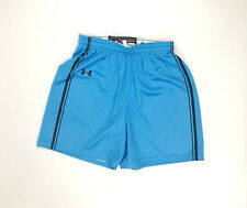 New Under Armour Armourfuse 1-PLY Basketball Short Women's M Blue UJKSNSW