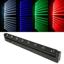 8X12W 4in1 Beam LED Bar DMX Moving Head Stage Light KTV Club 100W RGBW Strobe