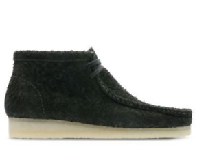 NEW 2018 MENS EXCLUSIVE ORIGINAL CLARKS OF ENGLAND GREEN SUEDE WALLABEE SHOE