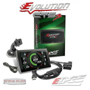 EDGE EVOLUTION CTS 3 TUNER FOR 01-16 CHEVY GMC DURAMAX DIESEL 6.6L 2500HD 3500HD