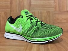 RARE🔥 Nike Flyknit Trainer+ Considered Design Electric Green Sz 9 532984-301 LE