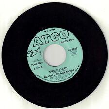 BLACK OAK ARKANSAS  (Uncle Lijiah)  ATCO 6829 = PROMOTIONAL record