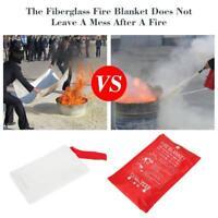 1Pcs Emergency Survival Fire Shelter Fire Blanket Extinguisher Tent Busin R C3D3