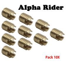 Motorcycle Brass Batwing Fairing Insert Repair Kit Bolts Screw For Harley 86-18