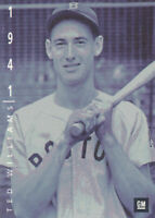 Ted Williams 1994 Upper Deck General Motors Ken Burns #9 Boston Red Sox  Card