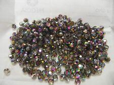 full package,288 preciosa round crystal beads,6mm vitrail green 2X