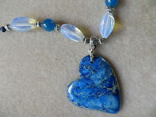 Jasper Blue Costume Necklaces & Pendants