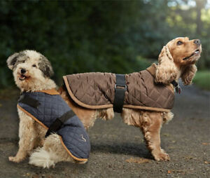 Gor Pets Dog or Puppy Coat Worcester Water Resistant Quilted Jacket High Quality