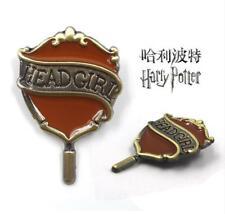 Harry Potter Hufflepuff HEAD GIRL pin badge metal brooch hat bag chothes pendant