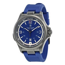 Victorinox Swiss Army Night Vision Blue Dial Mens Watch 241707