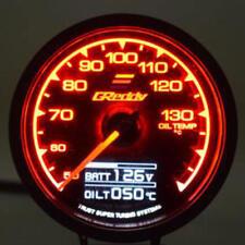 DC 12V 7 Colori Digitale Manometro Temperatura Olio Guage per Corsa da Auto