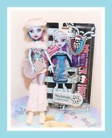 ❤️Monster High Abbey Bominable FIRST WAVE Doll School's Out NIP Fashion Pack❤️