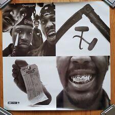 "Gravediggaz original Promo Poster ""6 Feet Deep"" Never Hung 2 sided 24""x24"""