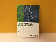 Advantech PCI-1710 Series 12/16bit Multifunction Card User's Manual