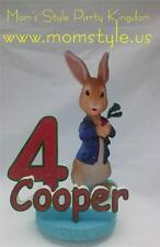 Peter Rabbit Cake Topper Birthday party supply