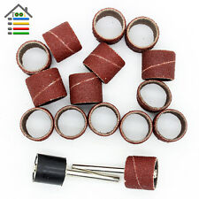 """100pc 120Grit Sanding Sandpaper Sander Band 1/2"""" for Dremel Grinder Rotary Tools"""