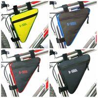 Bolsas de bicicleta Haz de bicicleta de bolsillo Triangle bolsa de bicicleta