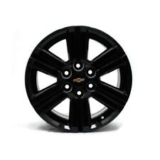"18"" CHEVY TRAVERSE 2013 2014 2015 2016 2017 BLACK WHEELS OEM 5572 (4)"