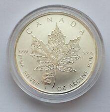 2016 Canada Maple Leaf Panda 1 Oz .999 Silver Coin