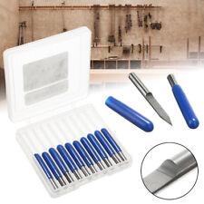 10PCS Carbide PCB Board 0.1mm 30 Degree Engraving Bits CNC Router Tool V-shape~*