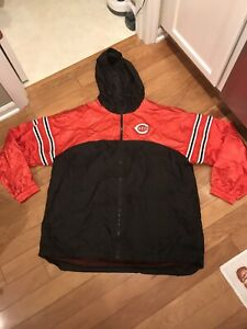 MLB  Men's L Large Coat Jacket Therma Base Authentic - Cincinnati Reds