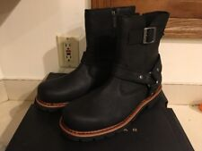 New With Box Harley-Davidson Men's Sandfield Work Boot, Black, 10.5 M US