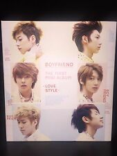 K-pop BOYFRIEND - LOVE STYLE (1ST MINI ALBUM) (BF01MNSP)
