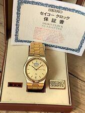 Rare Seiko President 5H23 Quartz SQ Full Set Box Papers 1988
