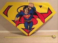 "STEVE KAUFMAN ""SUPERMAN"" ART - WARNER BROTHERS ART"