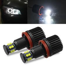 120W H8 LED Angel Eyes Halo Ring Lights Bulb 6500K For BMW E92 E93 E63 E70 X5/X6