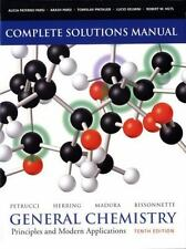 Solutions Manual for General Chemistry: Principles and Modern Applications (10..