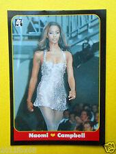 figurines cromos figurine masters card 55 naomi campbell 1993 model attrici moda