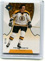 2019-20 ULTIMATE COLLECTION PHIL ESPOSITO LEGEND BASE #/99 19-20