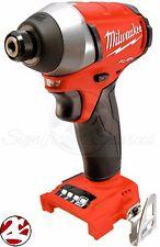 "Milwaukee 2753-20 M18 FUEL 18V Li-Ion Brushless 1/4"" Hex Cordless Impact Driver"