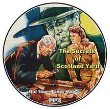 Secrets Of Scotland Yard - Old Time Radio Shows - MP3 CD - 57 Episodes