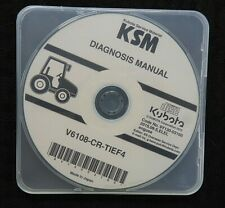 "KUBOTA M7131 M7151 M7171 TRACTOR ""V6108-CR-TIEF4 ENGINE"" DIAGNOSIS MANUAL ON CD"