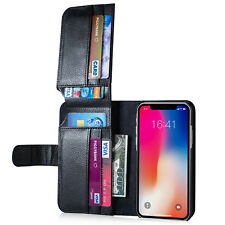 New Card Holder Flip Wallet Leather Case Cover For Apple iPhone XS