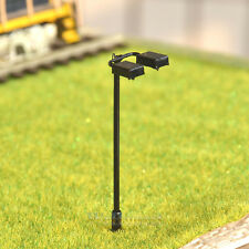 25 pcs HO Scale Model Lamppost Street Light SMD LED Made Courtyard Lamp #046