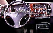 Saab 900 FIT 1987 1988 1989 1990 1992 1993 BURLWOOD GRAIN INTERIOR DASH TRIM KIT