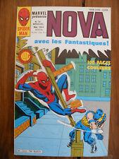 Semic MARVEL DC Comics FRANCE Spiderman BD LUG Super Heros NOVA n°76 Mai 1984