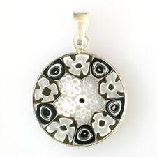 Murano runde Modeschmuck Halsketten & Anhänger aus Glas und