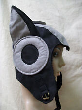 Aerocat Aviator Hoodie Hat Steampunk Wing Ears Apocalyptic Messenger Futuristic