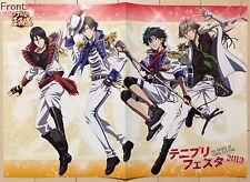 The Prince Of Tennis : The Prince Of Tennis Festival 2013 2-sided folded poster