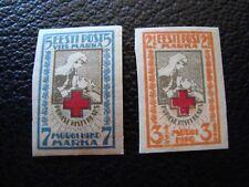 ESTONIE - timbre yvert et tellier n° 47 48 n* MH (TU)