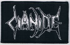 CIANIDE logo patch unleashed divine eve death coffins vomitory hail bullets